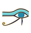 egyptian eye of horus symbol religion and myths vector image