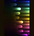 rainbow speed melt overlap abstract background vector image vector image