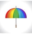 Umbrella icon Protection from rain Colorful vector image