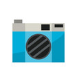 isolated camera design vector image