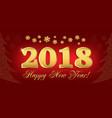 2018 card 210x100 v4 vector image vector image