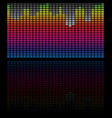 eq equalizer bars rectangular equalizer graphic vector image vector image