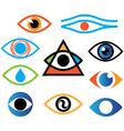 eye color vector image
