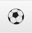 gray soccer ball icon isolated on background mode vector image