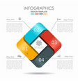 infographic template can be vector image vector image