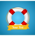 Life Bouy Background vector image