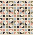 retro seamless pattern mid-century modern style vector image vector image