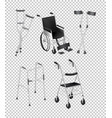 different kinds of handicap equipments