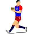 al 1104 rugby 01 vector image