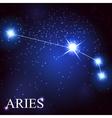 aries zodiac sign of the beautiful bright stars