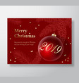Merry christmas abstract greeting card