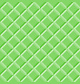 seamless pattern green tiles vector image vector image