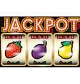 Slot Machine Jackpot vector image