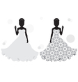 Bride silhouette vector | Price: 1 Credit (USD $1)