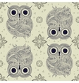 owl Bird in vector image vector image