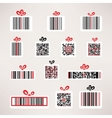 Present barcode image set Template for your design vector image vector image