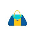 purse woman bag with handle modern sack model vector image vector image