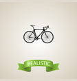 realistic road velocity element vector image vector image