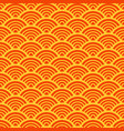 traditional asian wave pattern vector image vector image