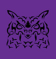 tribal owl vector image vector image