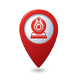 web camera RED pointer vector image