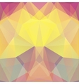 Background made of yellow pink beige triangles vector image vector image