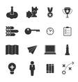 business strategy and marketing icons set design e vector image
