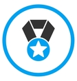 Champion Medal Icon vector image