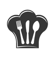 Cutlery icon Menu and kitchen design vector image