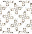Design seamless flower decorative pattern vector image vector image