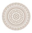 flower mandala vector image vector image