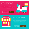 Food Delivery Banners vector image vector image