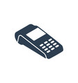 payment card reader icon vector image