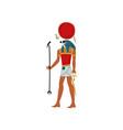 ra god sun symbol ancient egyptian culture vector image vector image