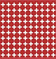 red flower seamless pattern image vector image vector image
