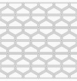 seamless geometric abstract pattern of hexagons vector image