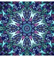 Seamless pattern with colorful circle ornament vector image