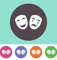 Theatre icon vector image vector image