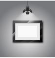 Empty frames vector image
