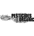 atreat your garden right with organic pesticides vector image vector image