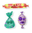 candy sweet vector image vector image