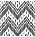 fashion ikat seamless pattern vector image