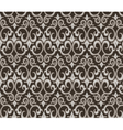 Gothic style ornament pattern background vector image vector image