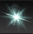 Lighting spark vector image