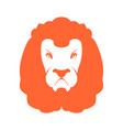 lion sign logo leo emblem icon wild animal vector image