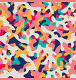 multicolor seamless background vector image vector image