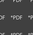 PDF file document icon Download pdf button PDF