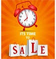 Sale time concept vector image vector image