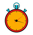 stopwatch icon cartoon vector image vector image