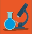 test tube icon image vector image